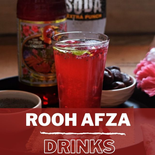 Best Rooh Afza Drinks